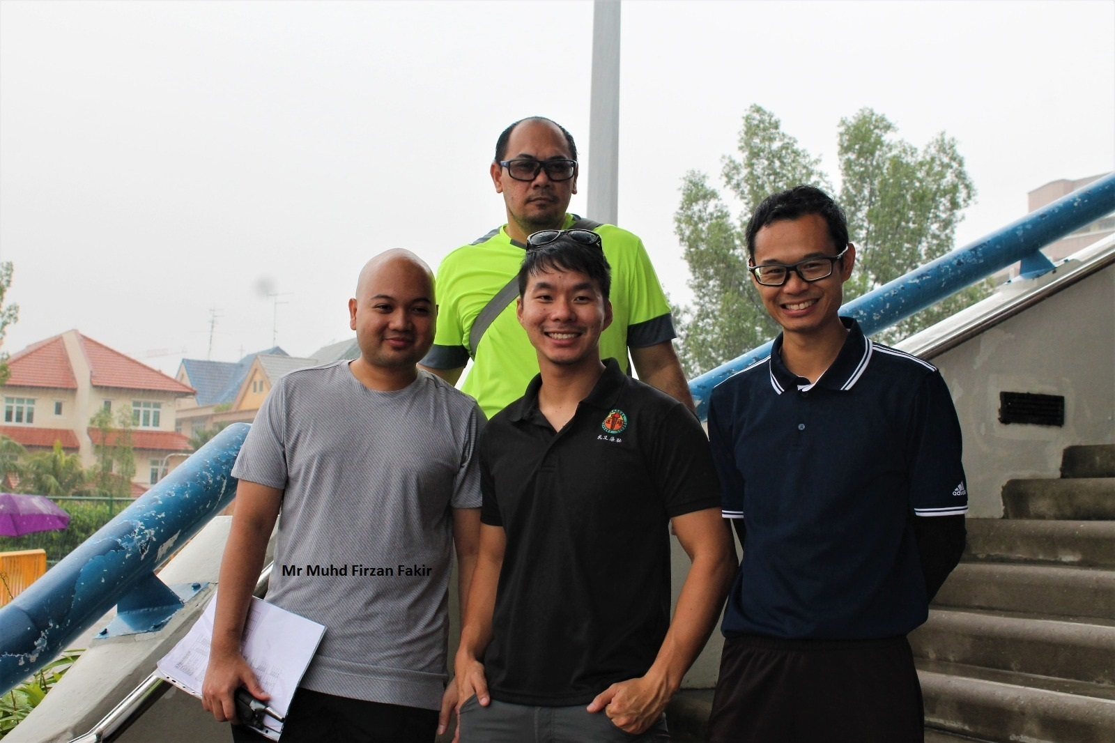 Punggol Sec alumni AED with PE teachers.jpg